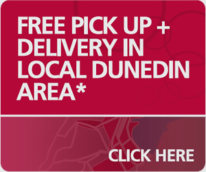 Free pick up and delivery in Dunedin