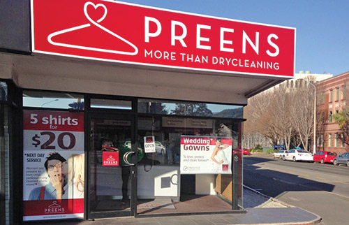 Preens North Dunedin Dry Cleaners