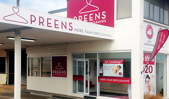 Preens South Dunedin Dry Cleaners